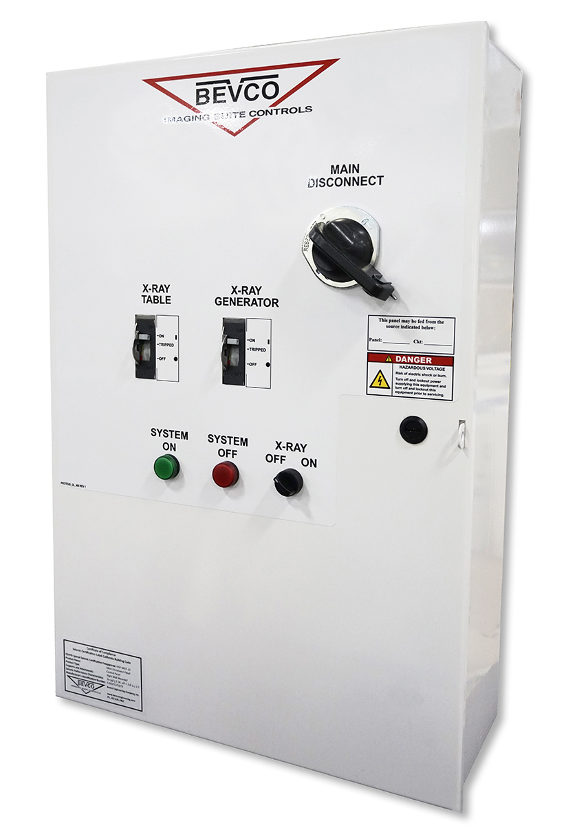 Bevco X-Ray Main Disconnect Panel